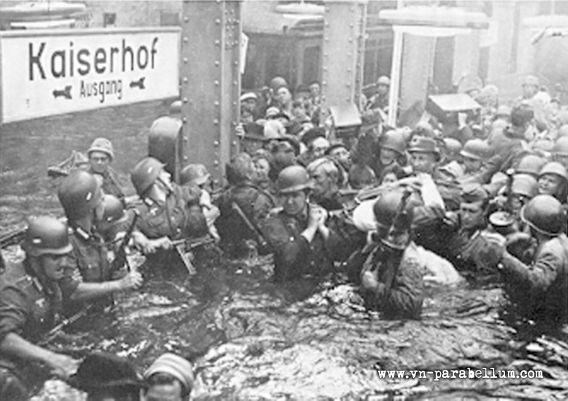 затопление берлинского метро