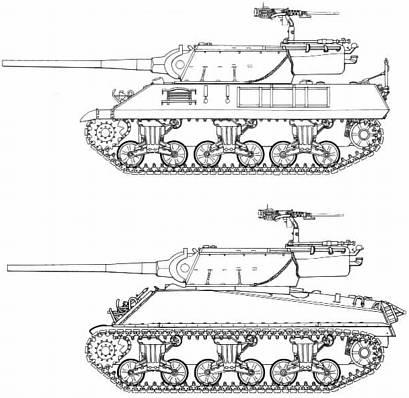 американская САУ М36. M36 GMC (М36 истребитель танков) - статья ...