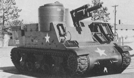 105mm M7B2 Howitze Motor Carriage - 105мм САУ М7В2 Прист