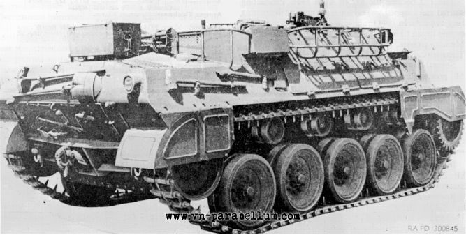 Стандартный T41 (M39) Armoured Utility Vehicle - на базе M18 Hellcat